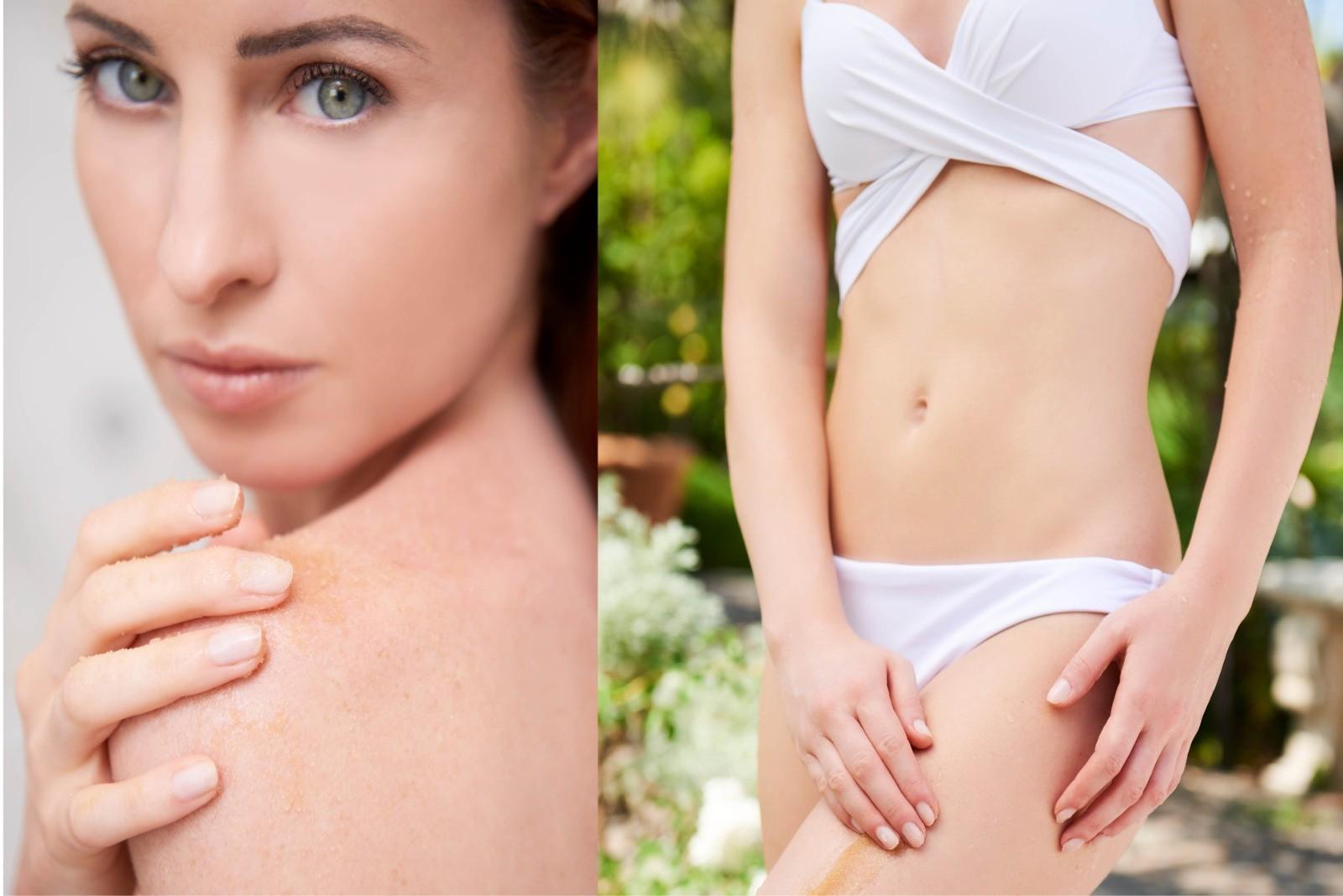 Read more about the article Come preparare la pelle del corpo all'estate